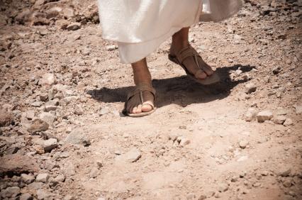 Los pies de Jesús