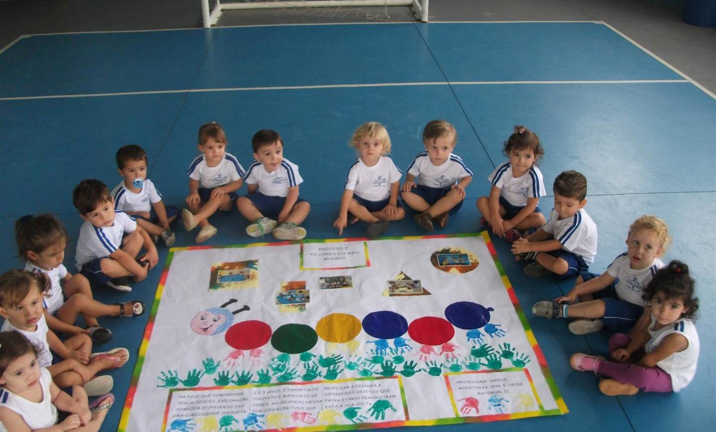 As cores no mundo infantil