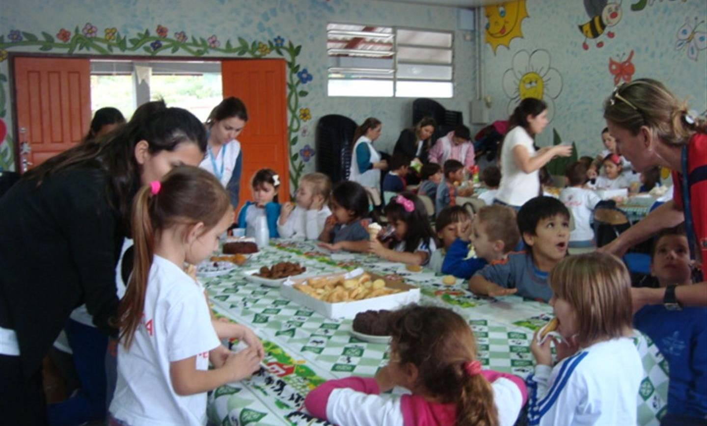 Educação Infantil realiza ação social