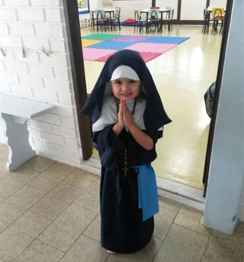 Educação Infantil celebra com alegria e devoção a Semana de Santa Paulina