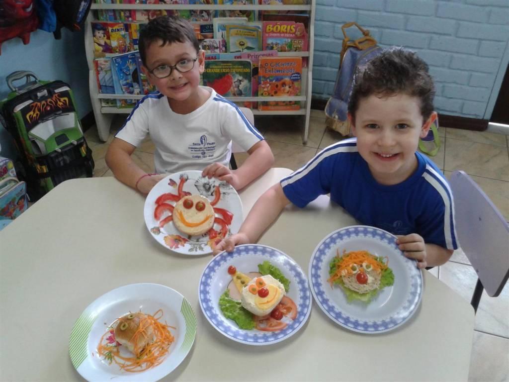Descobrindo o sabor dos alimentos