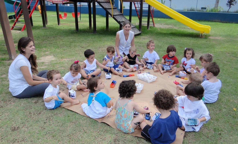 Aulas experimentais estimulam a criatividade das crianças