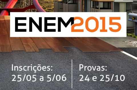 Vem aí o ENEM 2015…PARTICIPE!