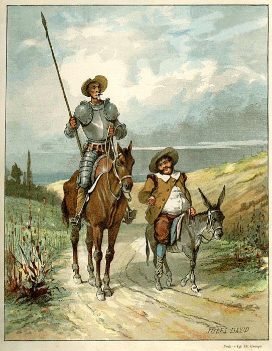 Além da obra de Dom Quixote