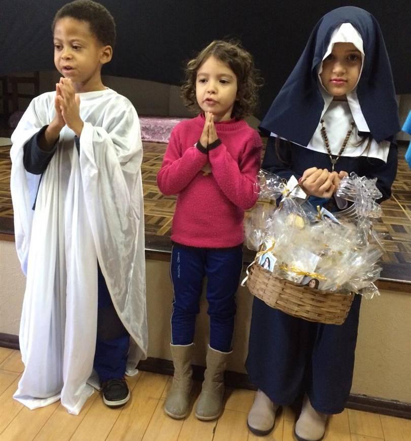Comunidade Educativa celebra a semana de Santa Paulina
