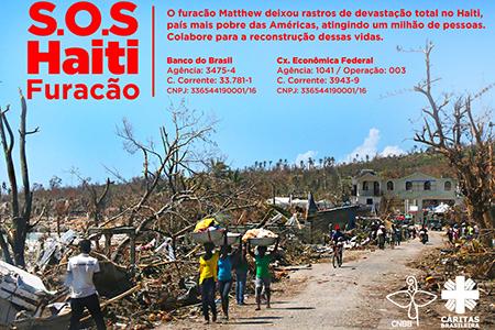 Noite Cultural  terá renda revertida a haitianos vítimas do furacão Matthew
