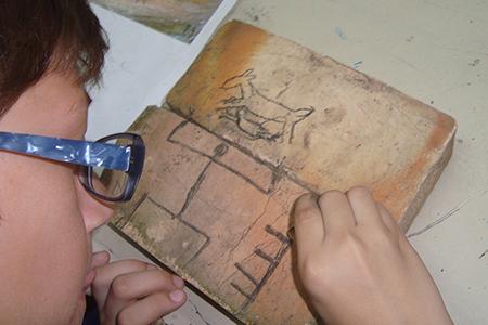 Estudantes produzem e recriam obras de arte