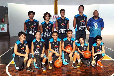 Esporte: CSJ vence Blumenau e assume liderança no sub-13 de basquete