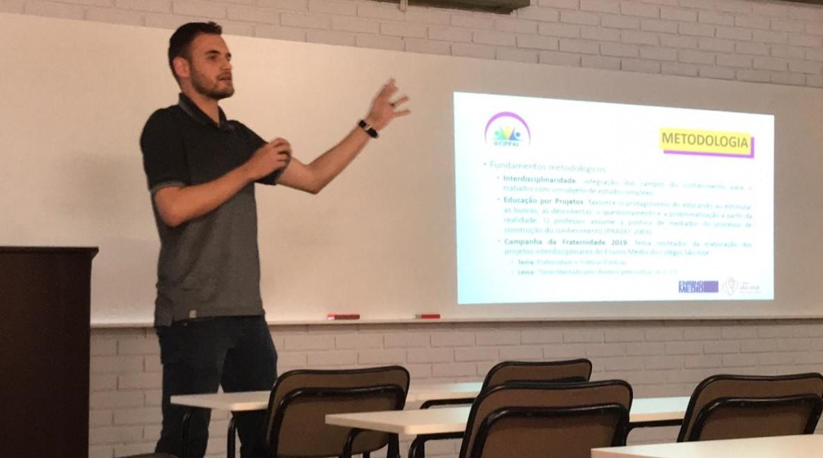Trabalho do Ensino Médio é apresentado em Congresso Internacional