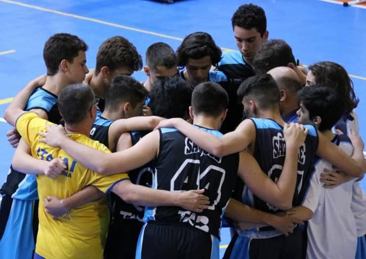 CSJ garante vaga na final do catarinense de basquete sub-15
