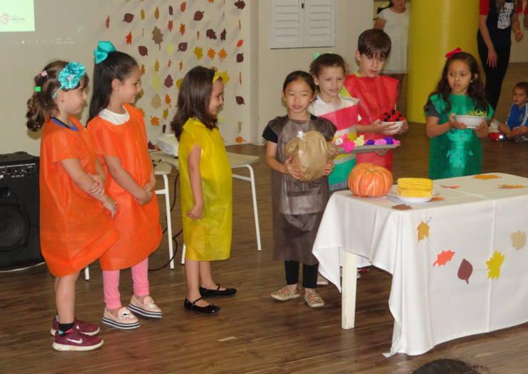 English Club comemora o Thanksgiving Day