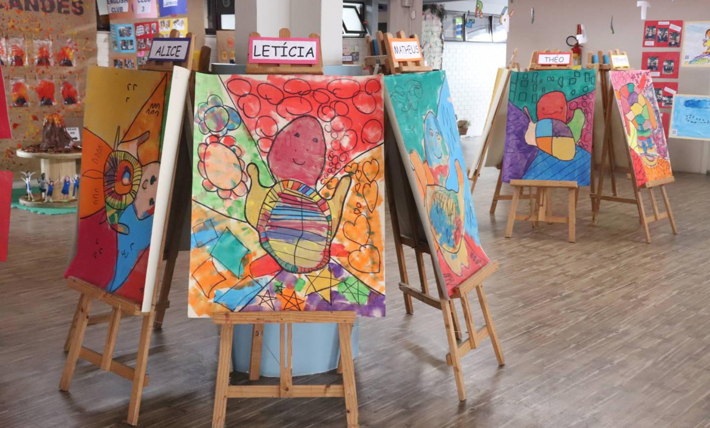 Educação Infantil expõe trabalhos do Terceiro Trimestre